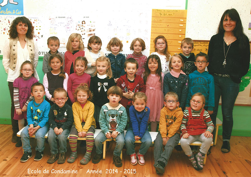 Classe maternelle 2014
