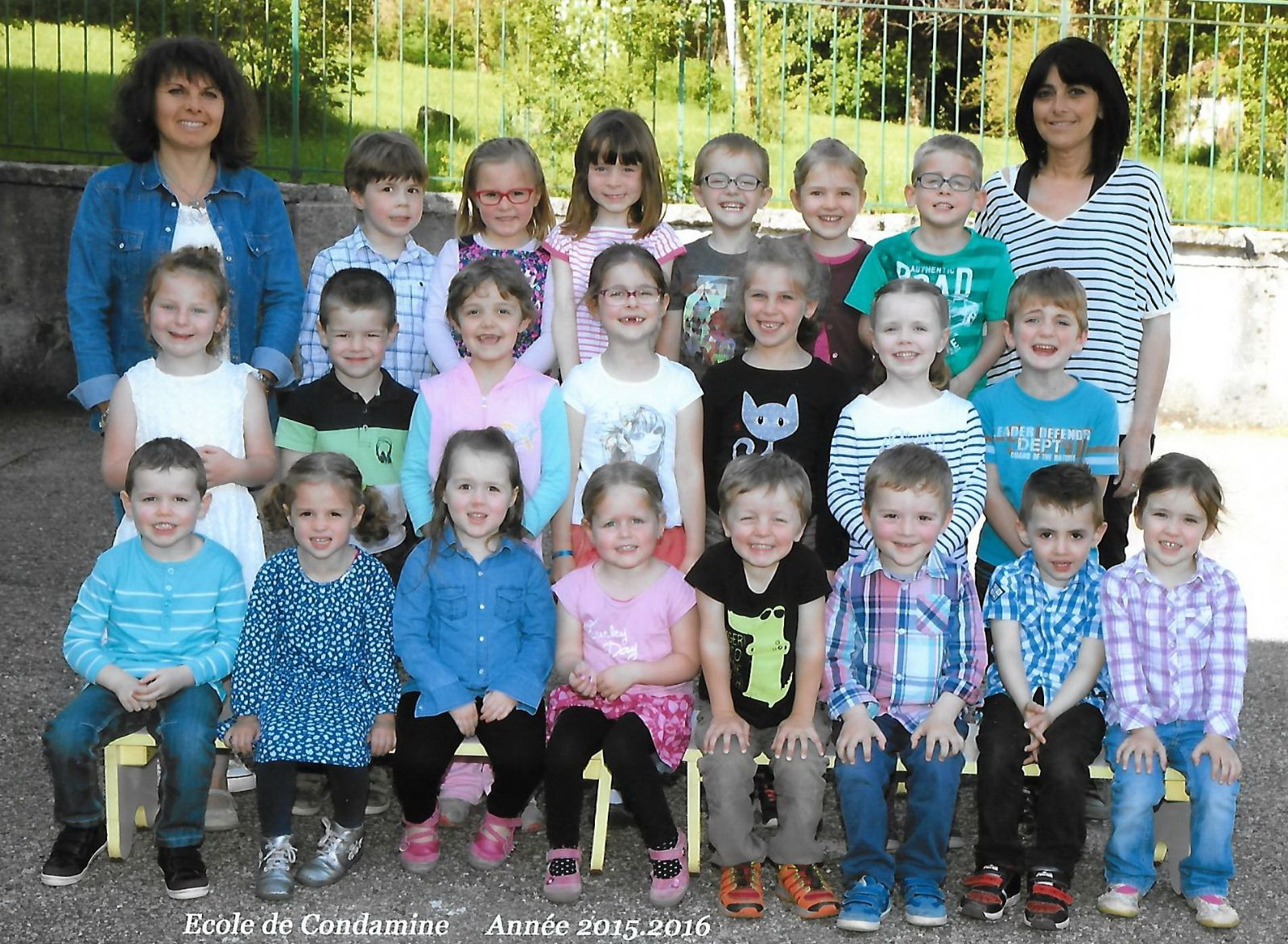 Classe maternelle 2015